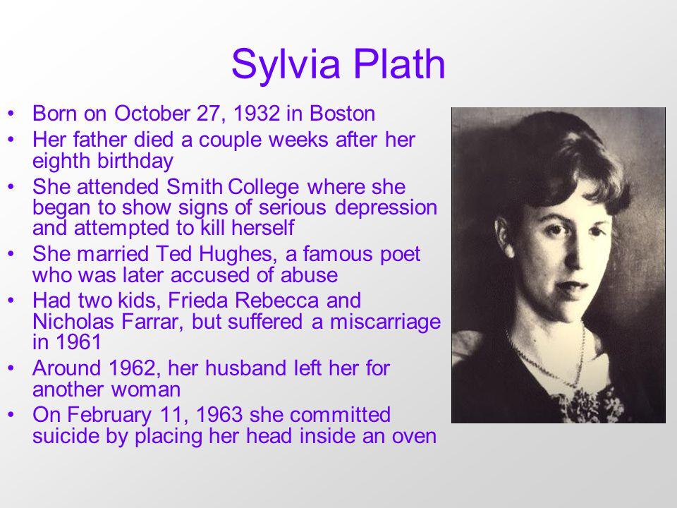 sylvia plath life story