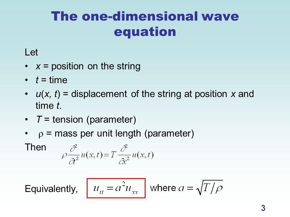SPECIAL TOPICS: PARTIAL DIFFERENTIAL EQUATIONS - ppt video