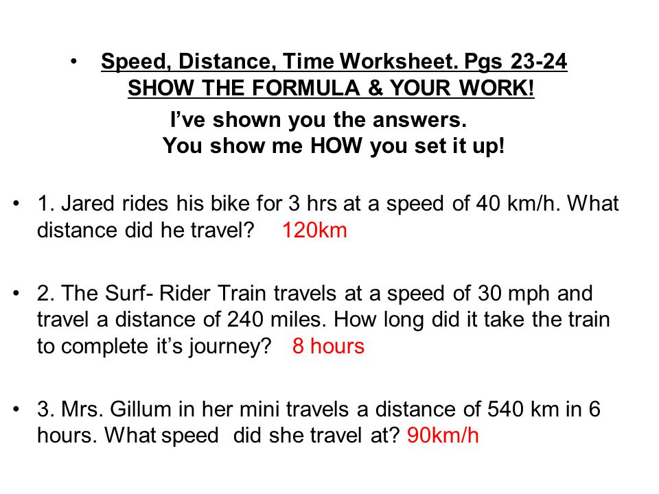 Chp 5 Little Book, Motion Math & Work Sheet Answers: Be sure to ...