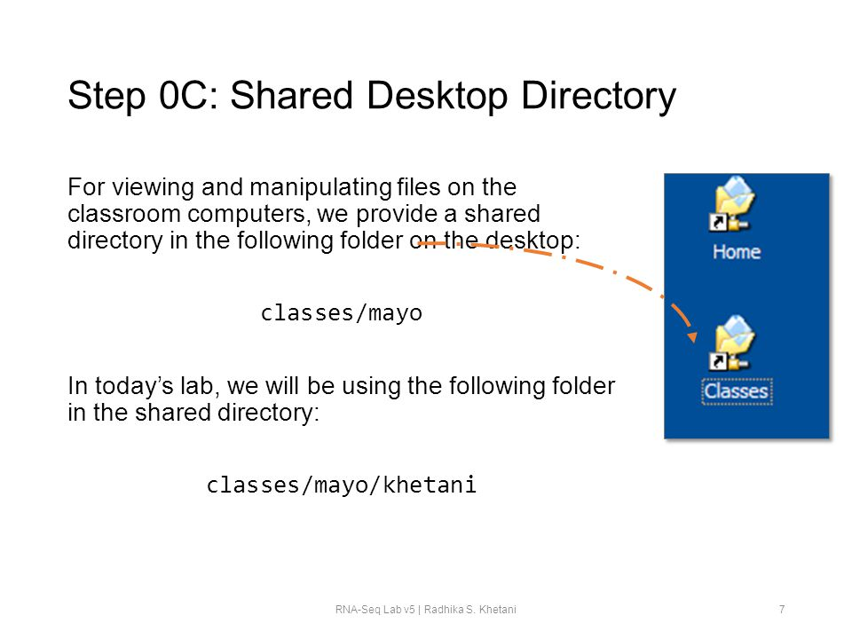 Step 0C: Shared Desktop Directory