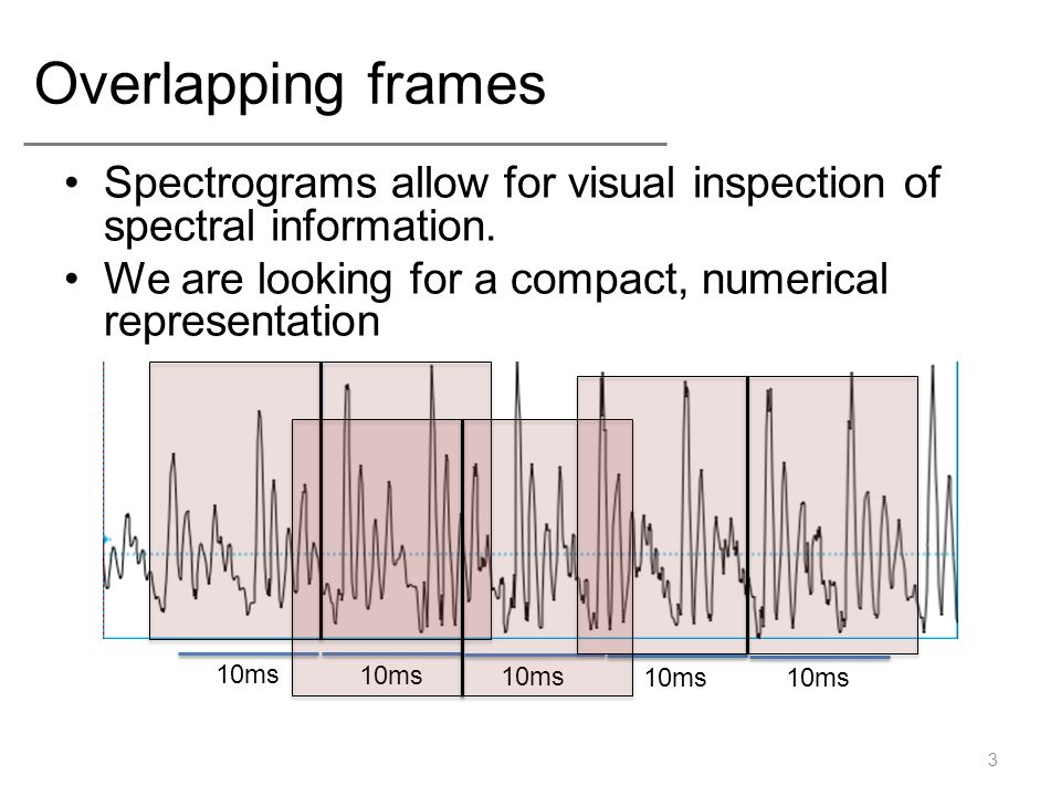 Representing Acoustic Information - ppt video online download