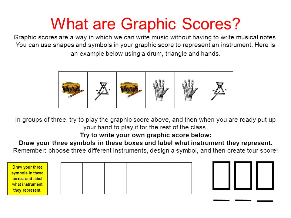 What Are Graphic Scores Ppt Video Online Download