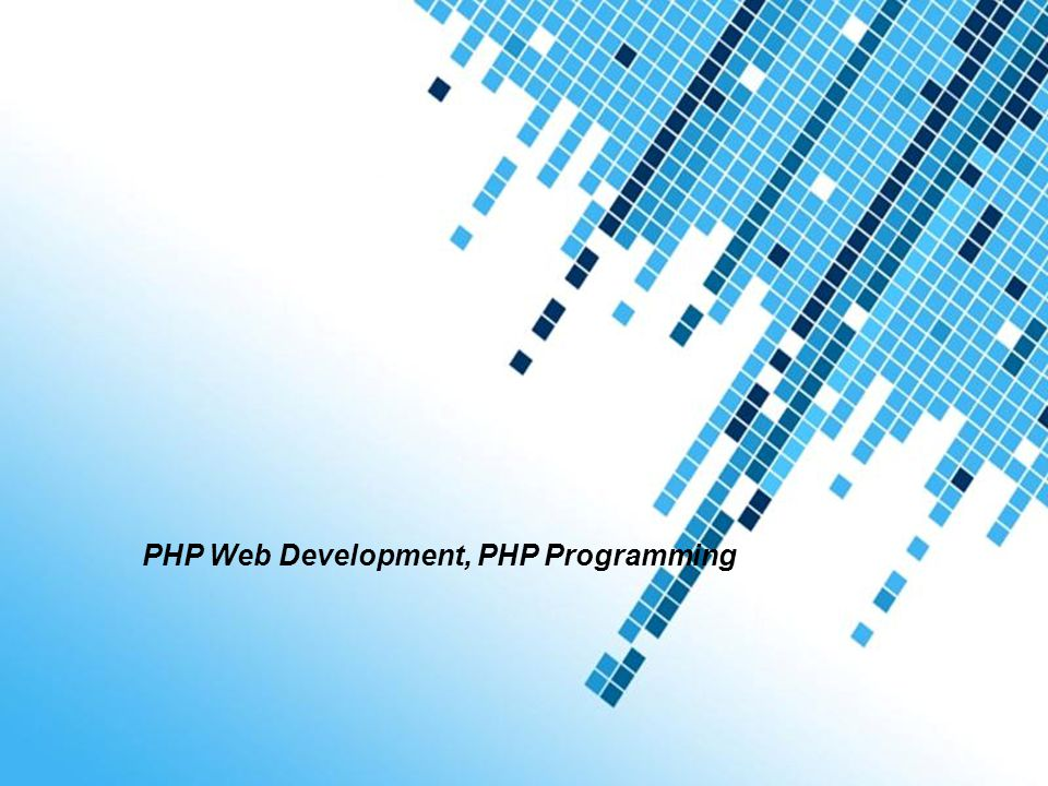 Php web development php programming ppt download php web development php programming toneelgroepblik Images