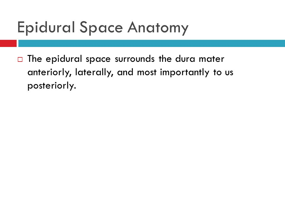 Neuraxial Blockade Anatomy and Landmarks - ppt video online download