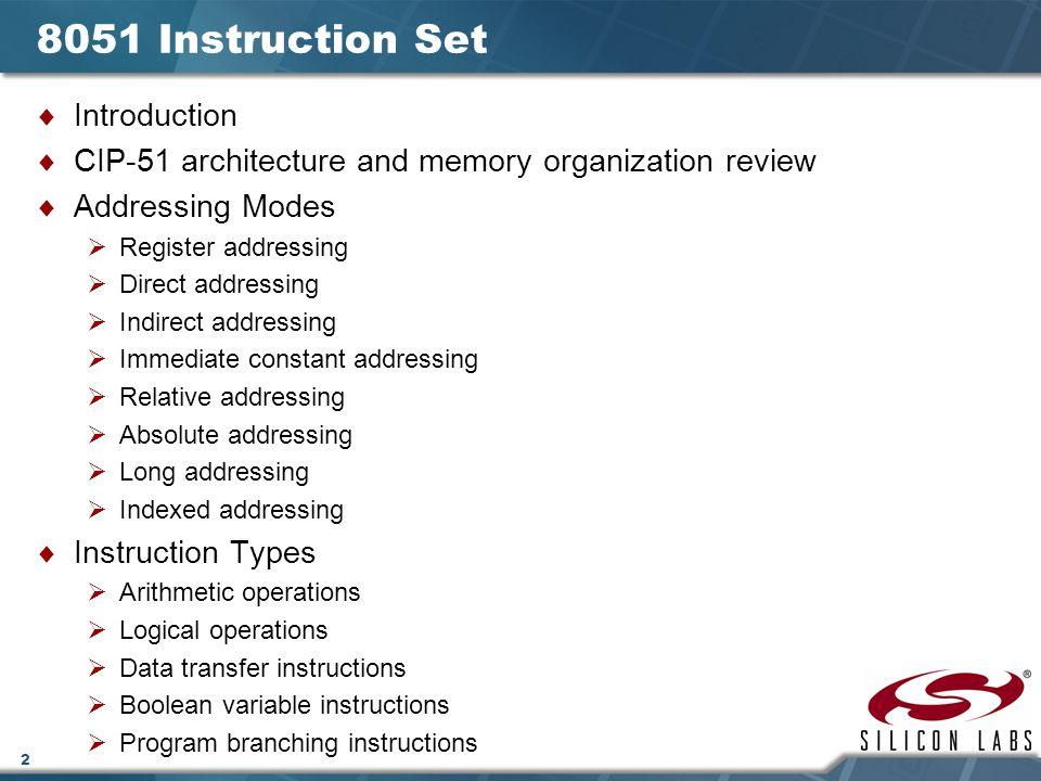 Lecture Instruction Set Ppt Download