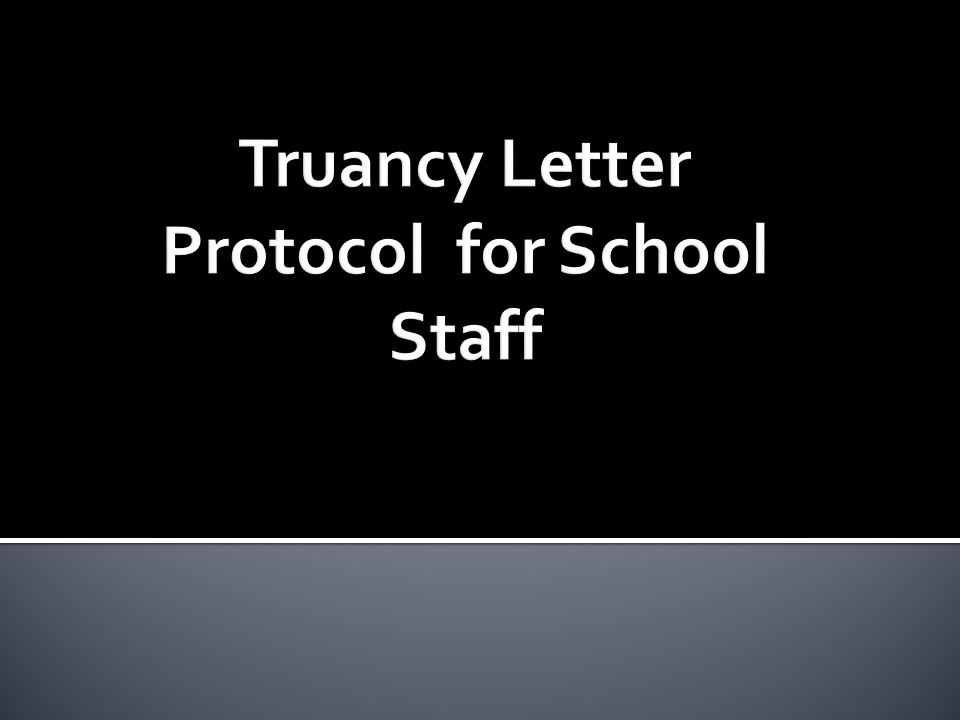 Case Management Of Truant Students And SARB