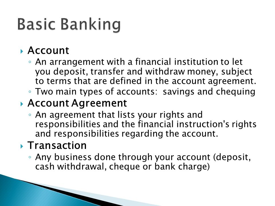 Banking Services Life Transitions Ppt Video Online Download