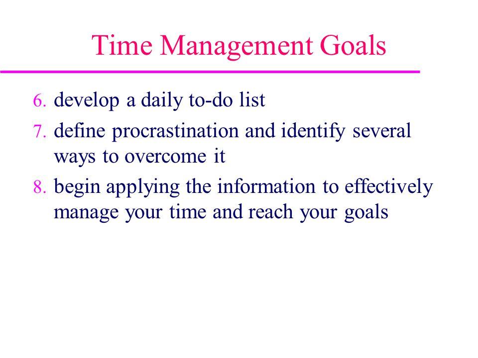 3 time management