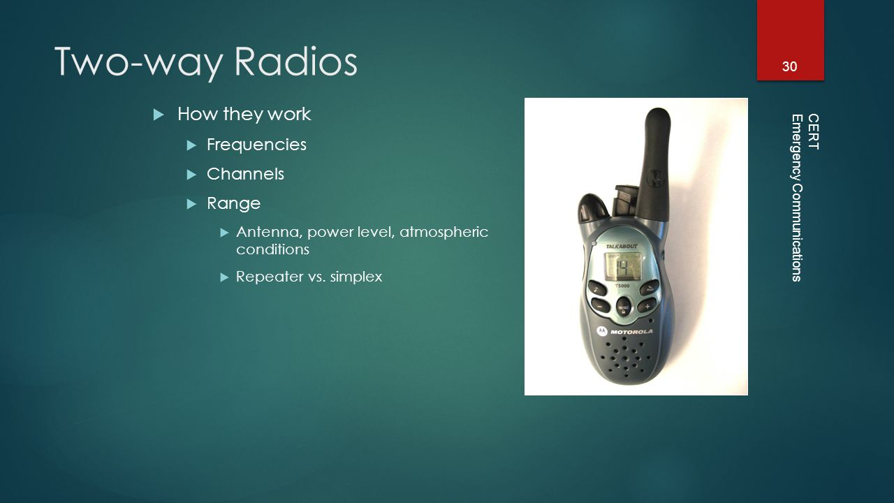 Emergency Communications - ppt video online download