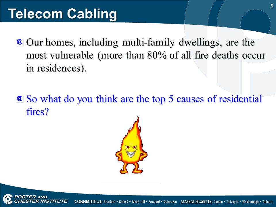 Telecom Cabling Fire Stopping. - ppt download