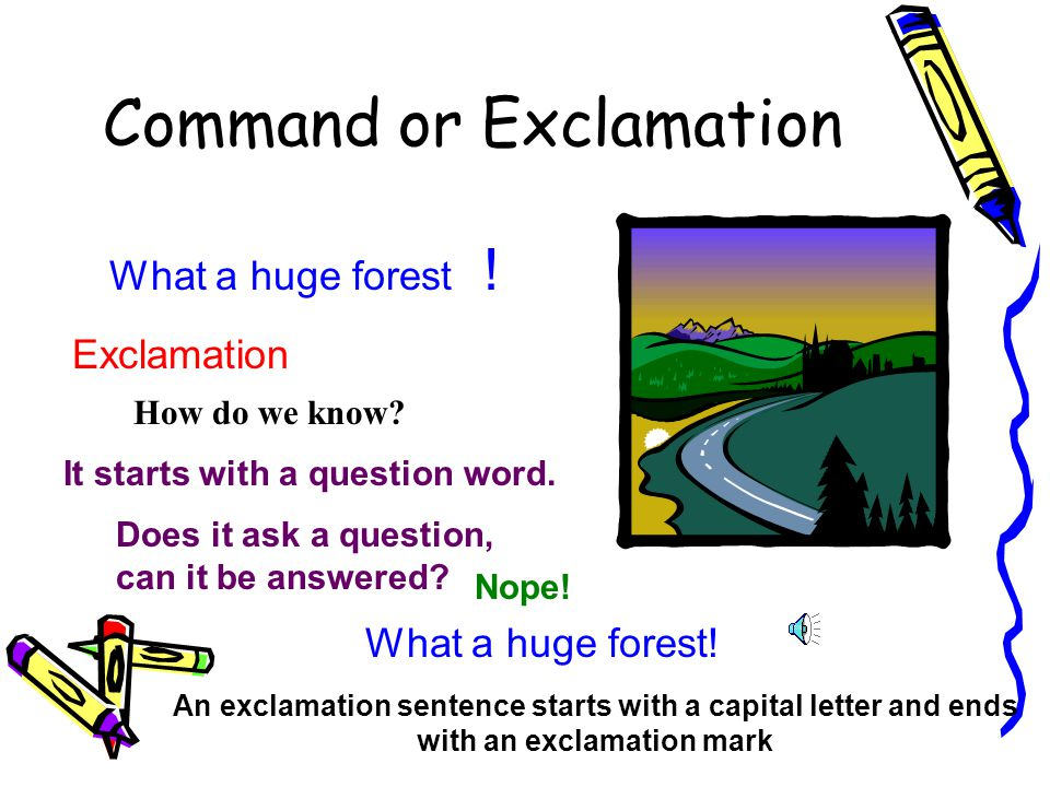 Do You Use A Capital Letter After An Exclamation Mark