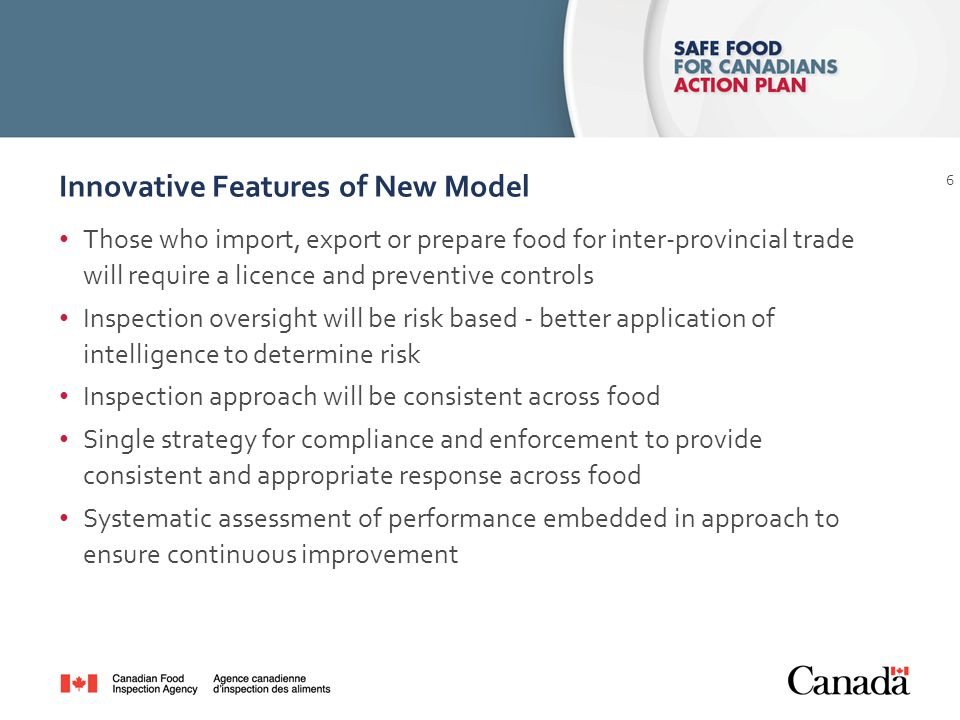 Purpose To provide an overview of elements of a new regulatory