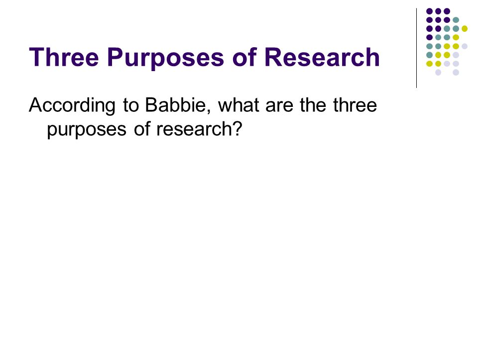 Research Design The Basics Of Social Research Earl Babbie