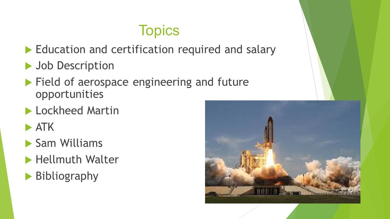 Aerospace Engineering - ppt video online download