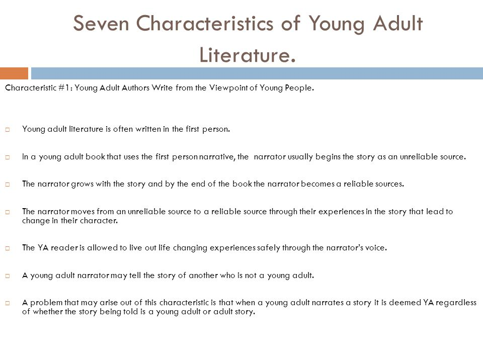 what are the characteristics of literature