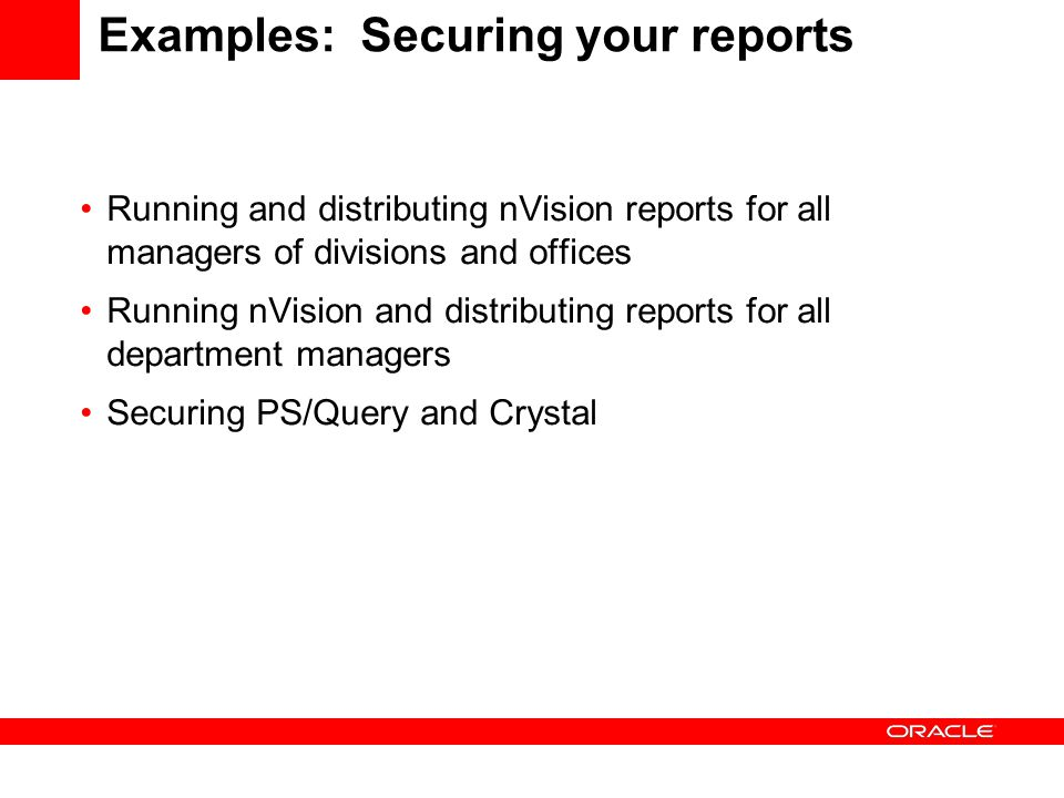 Advanced Reporting Techniques for PeopleSoft Enterprise - ppt download