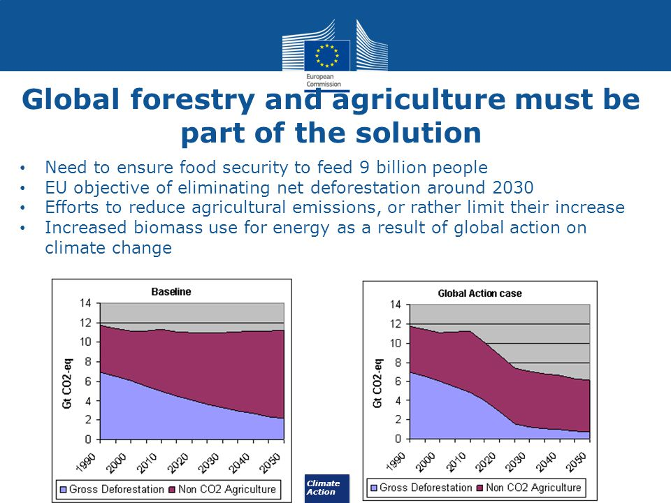 Global forestry and agriculture must be part of the solution
