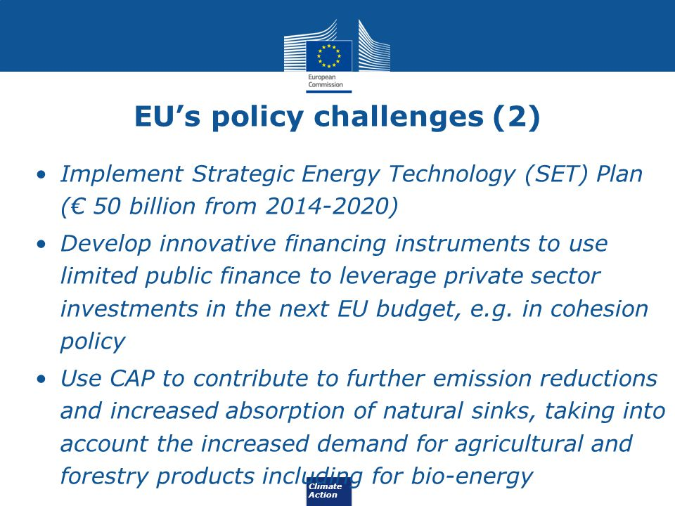 EU's policy challenges (2)