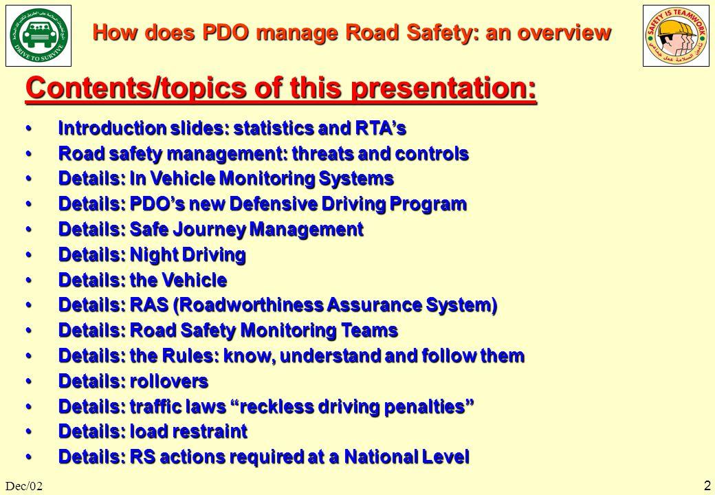 safety management system powerpoint presentation