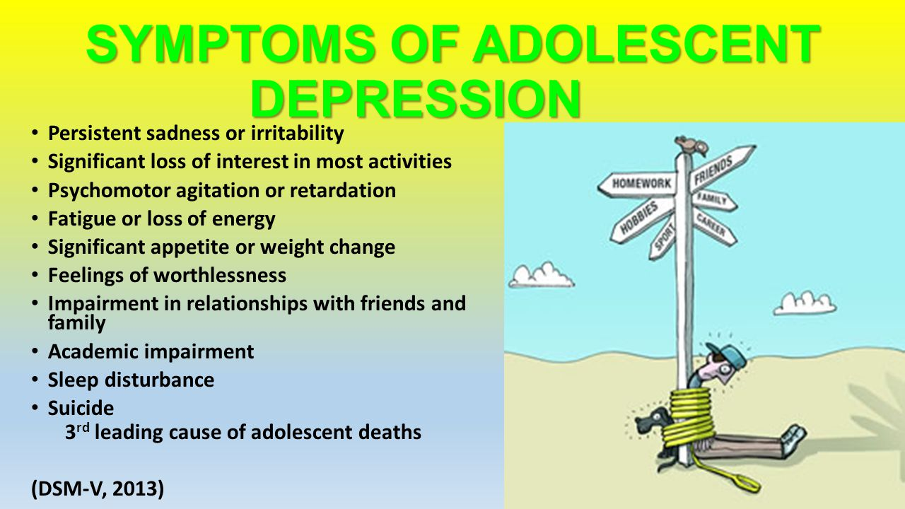 depression \u0026 physical activity ppt downloadsymptoms of adolescent depression