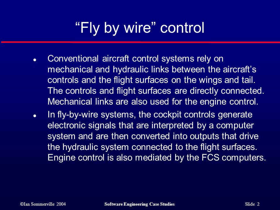 fly by wire system in aircraft pdf