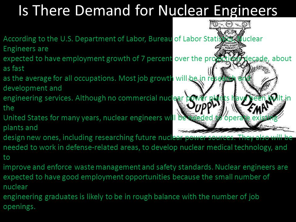 Is There Demand for Nuclear Engineers