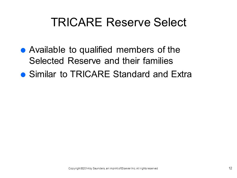 TRICARE Reserve Select