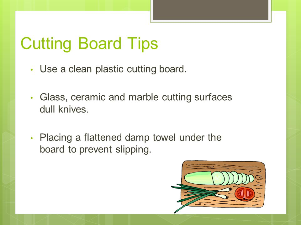 11 Cutting Board