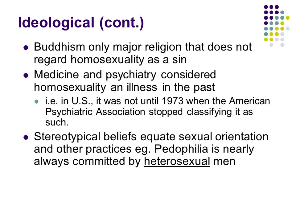 Buddhist stance on homosexuality statistics