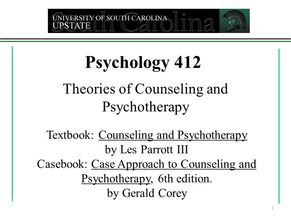 two approaches to counselling psychology essay Adlerian: named for its founder, alfred adler, it is also called individual psychology considered the first common sense therapy, the basic premise is that human beings are always becoming, that we're always moving toward the future, and our concerns are geared toward our subjective goals rather than an objective past.