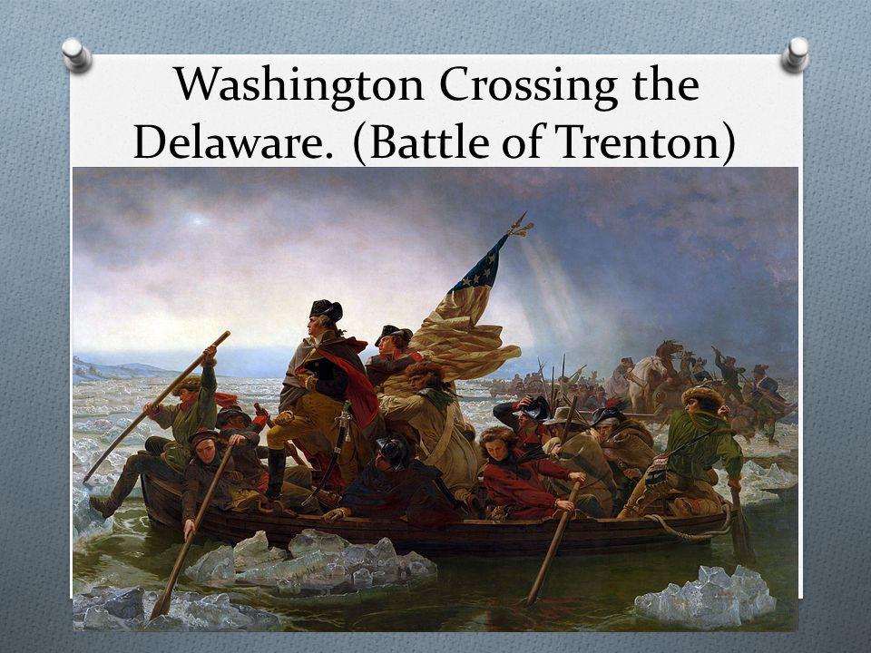 how did the battle of trenton start