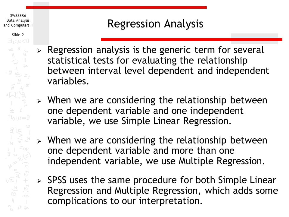 Simple Linear Regression - ppt download