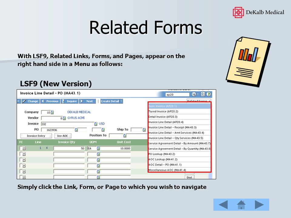 Related Forms LSF9 (New Version)