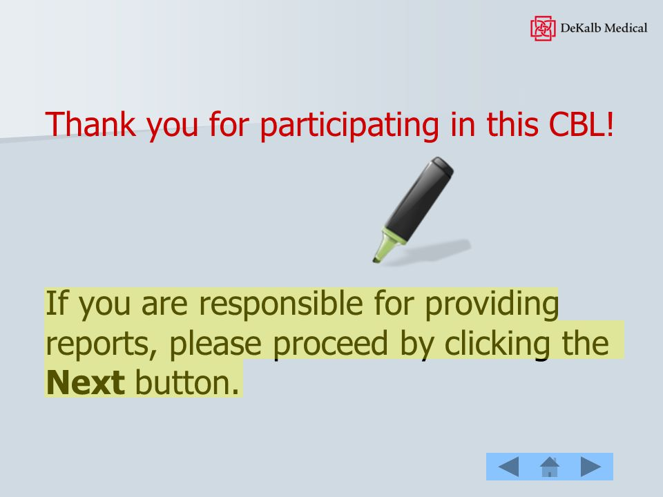 Thank you for participating in this CBL!