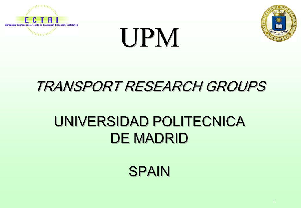 Upm transport research groups universidad politecnica de madrid 1 upm transport research groups universidad politecnica de madrid spain toneelgroepblik Images