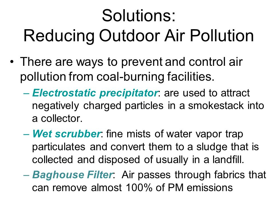 Air Pollution Chapter Ppt Video Online Download