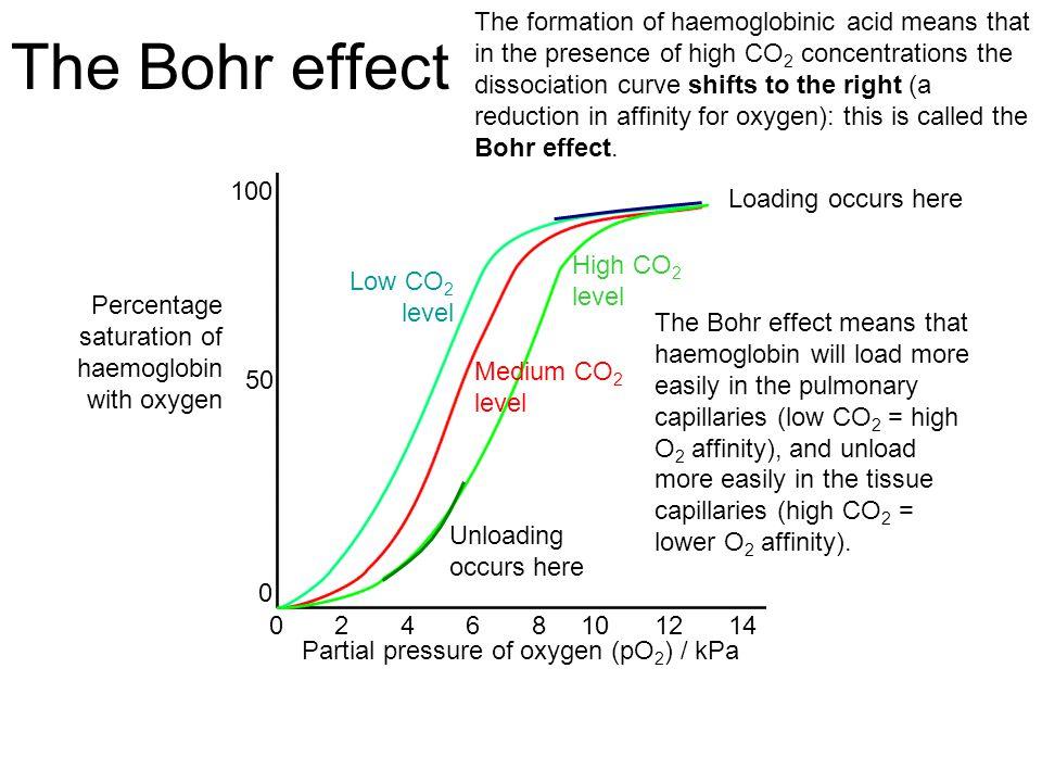 Image result for oxygen dissociation curve a level biology