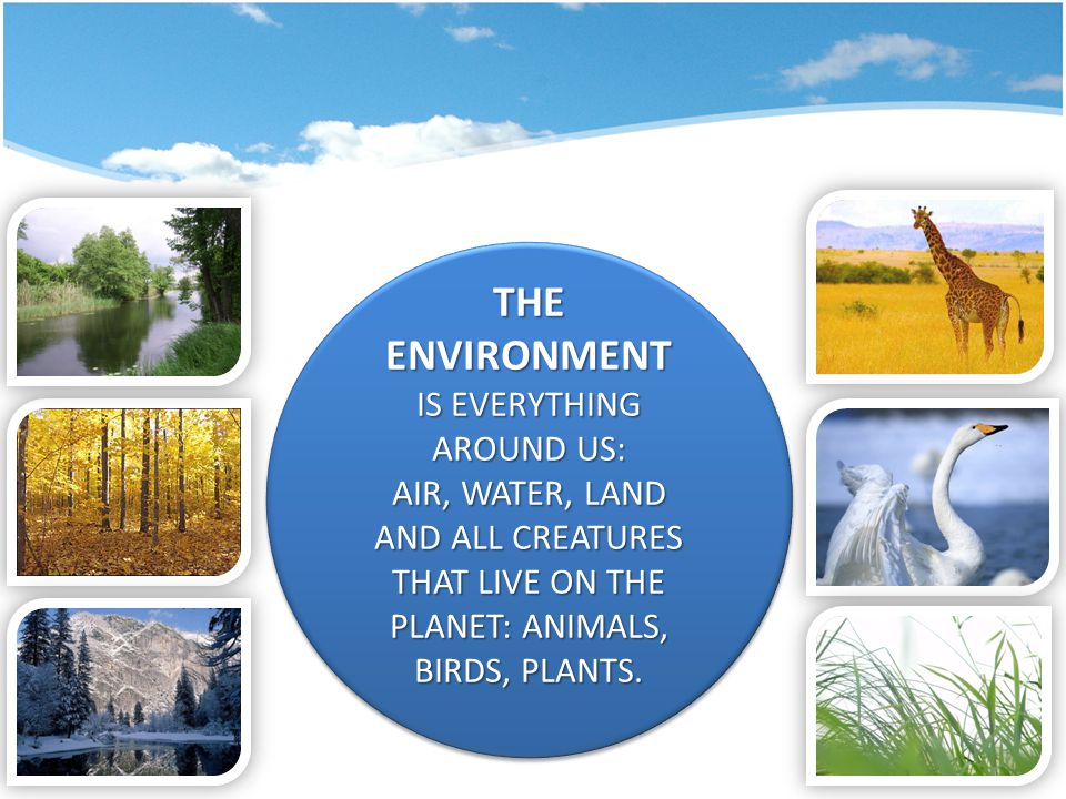 SLOGANS KEEP OUR LAND, WATER, AIR CLEAN  THE EARTH IS OUR HOME