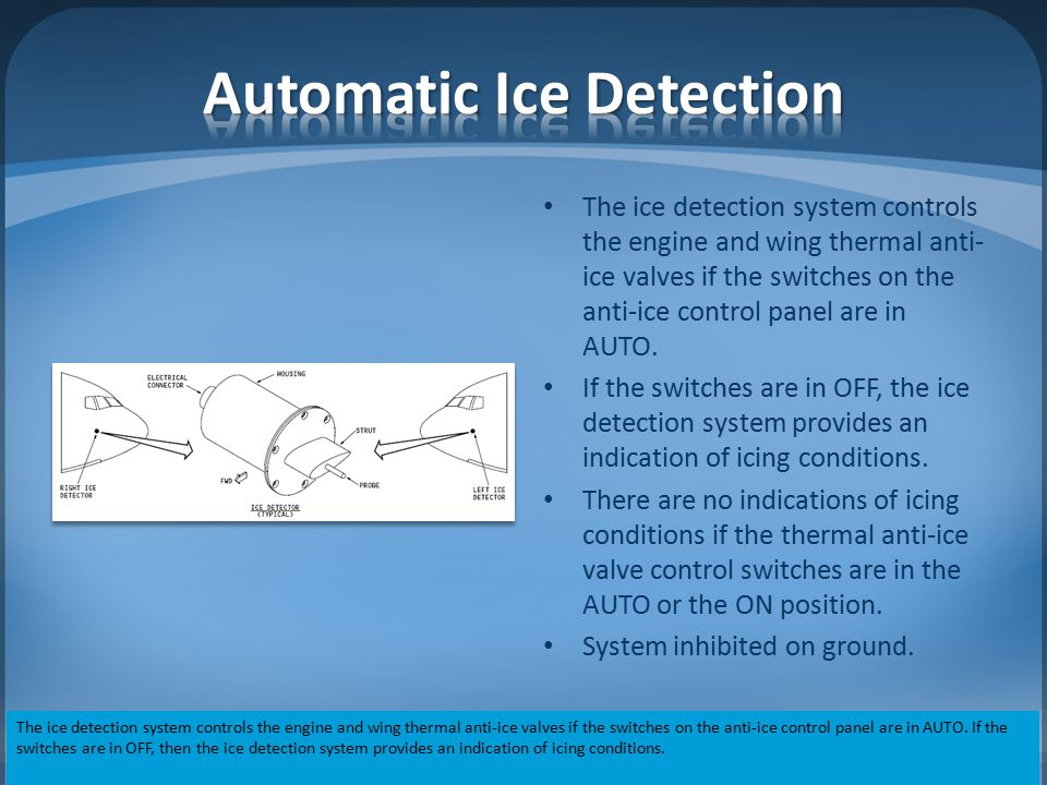 Automatic Ice Detection