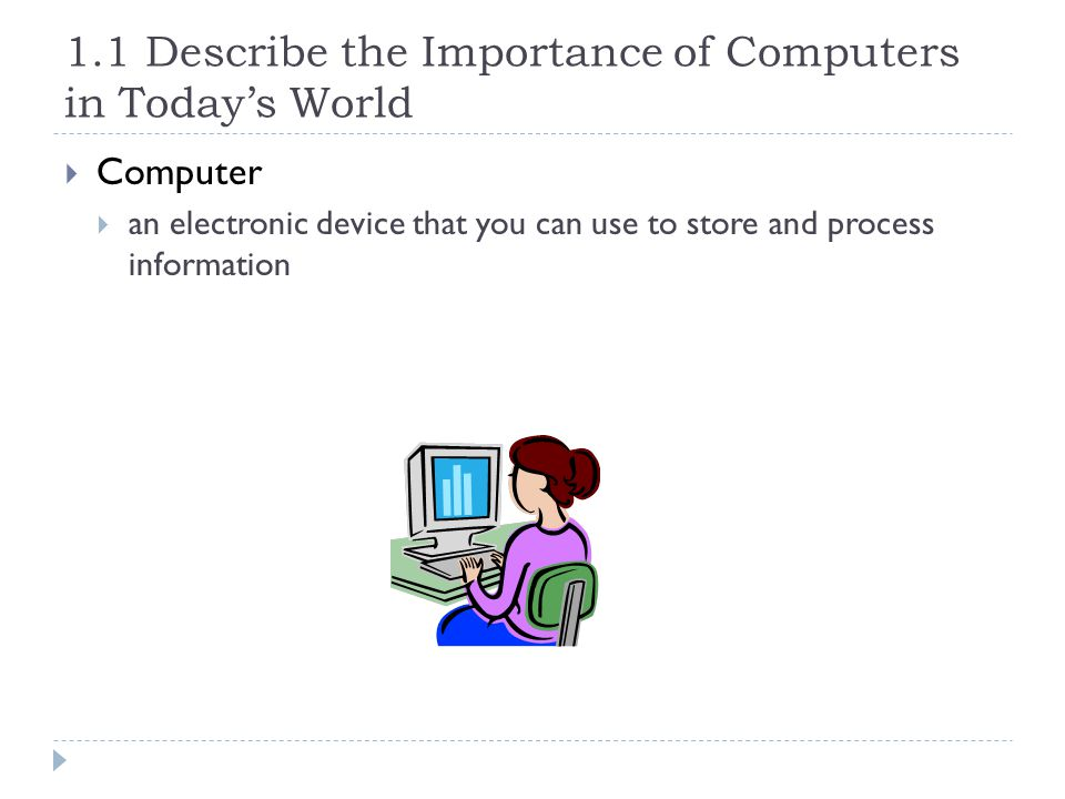 why are computers important in todays world