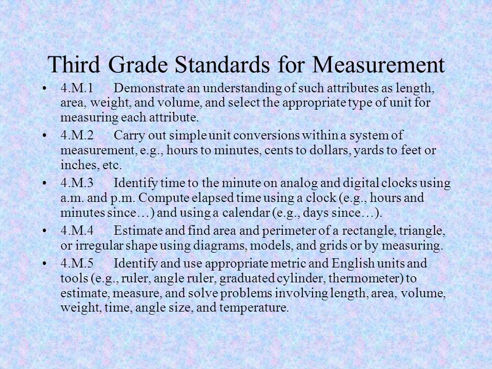 3rd Grade Measurement. - ppt download