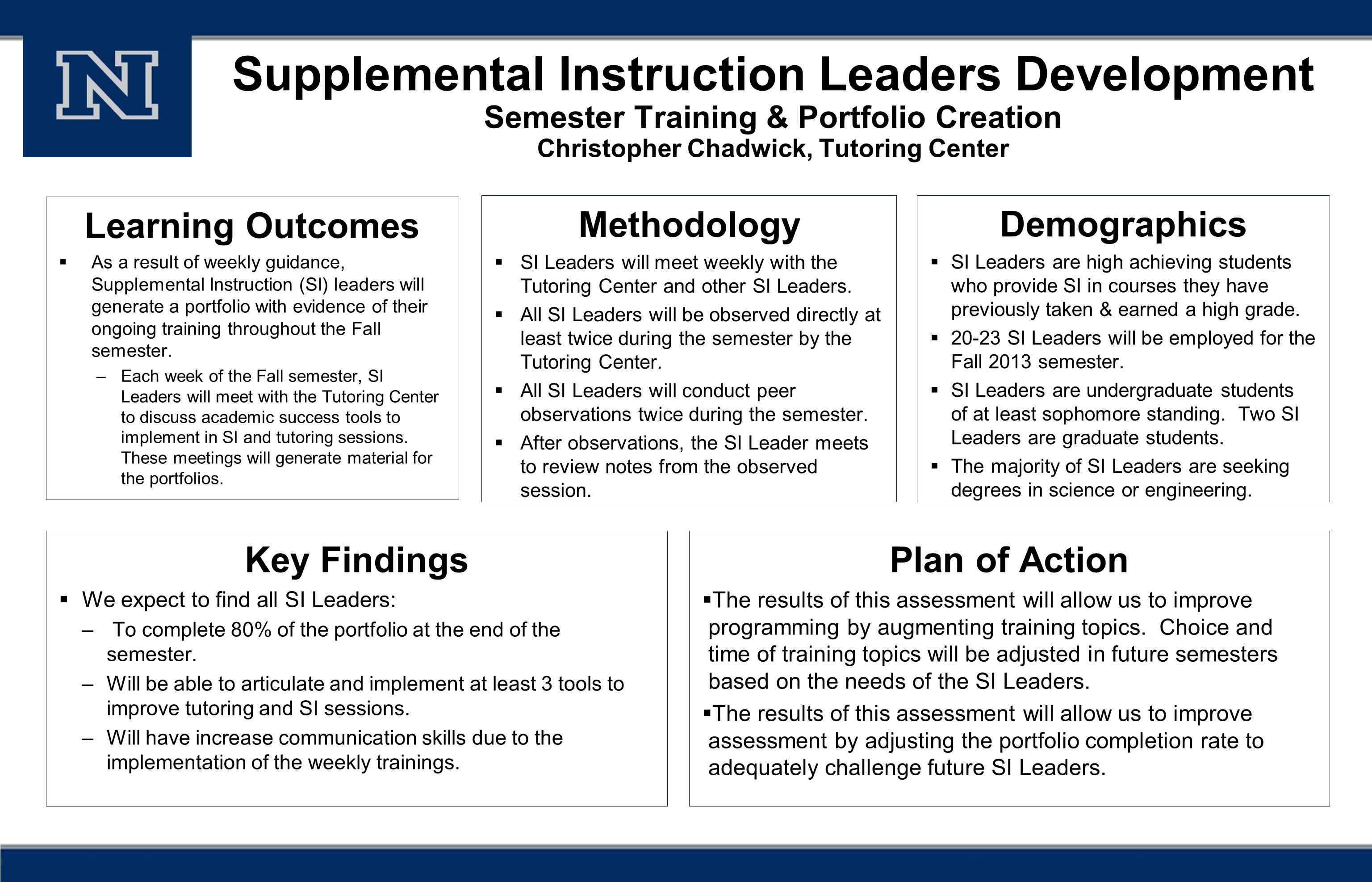 Supplemental instruction | fisk university.