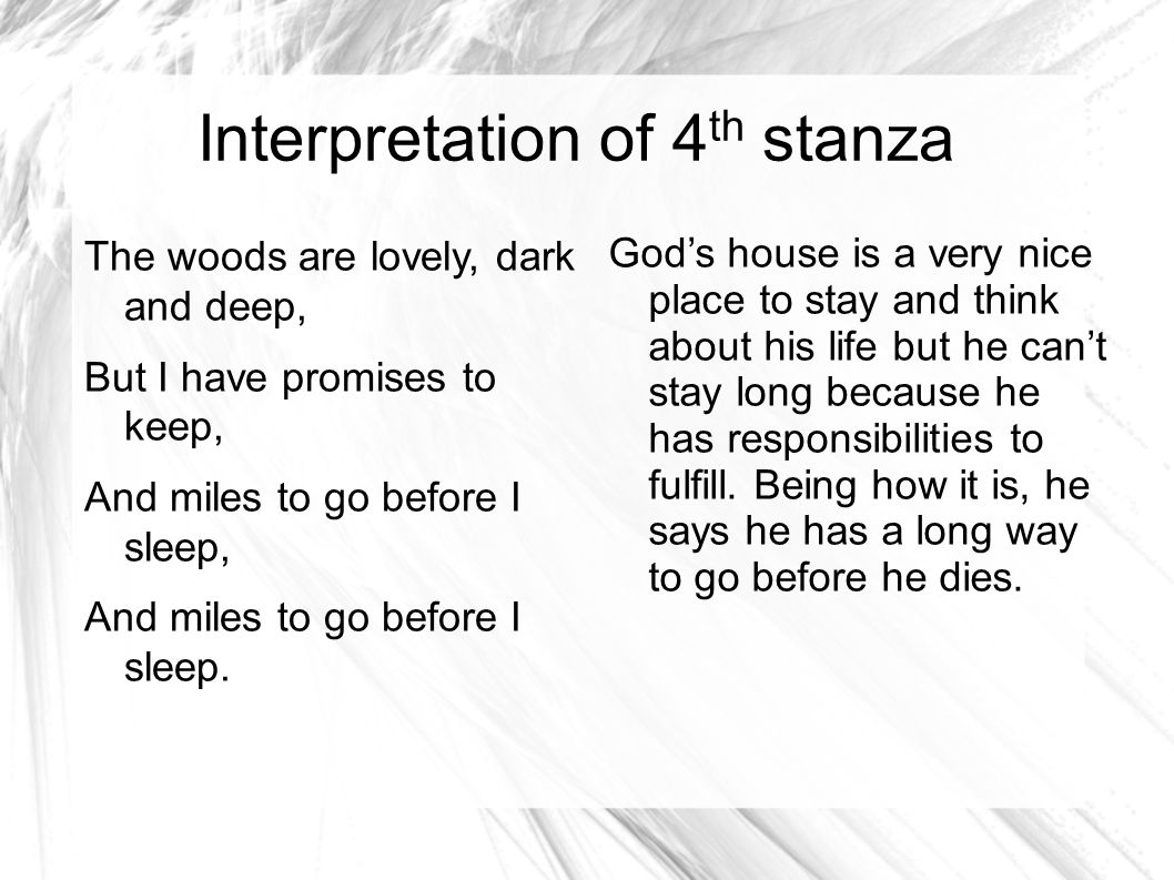 Stanza Overview In Stopping By Woods On A Snowy Evening Essay Help