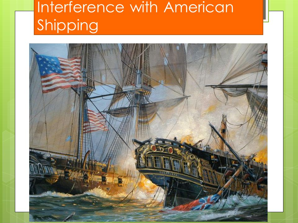 Interference with American Shipping