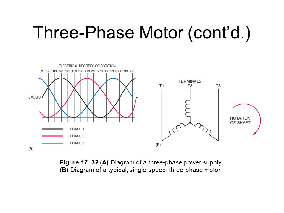 Three-Phase Motor (cont'd.)