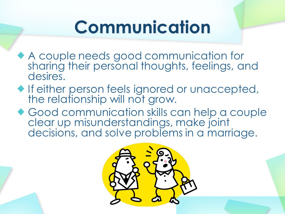 Solve communication problems in a relationship  6 Common