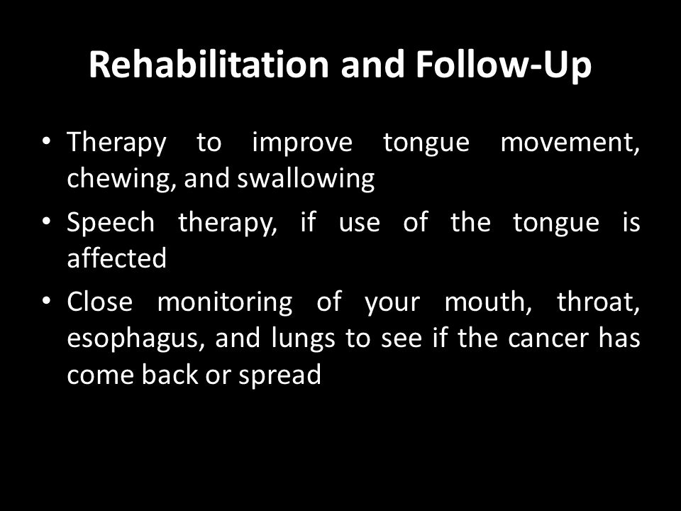 Rehabilitation and Follow-Up