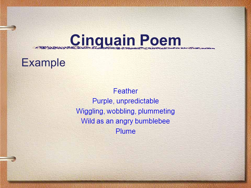 Poetry writing cinquain poem student hand-out   tpt.