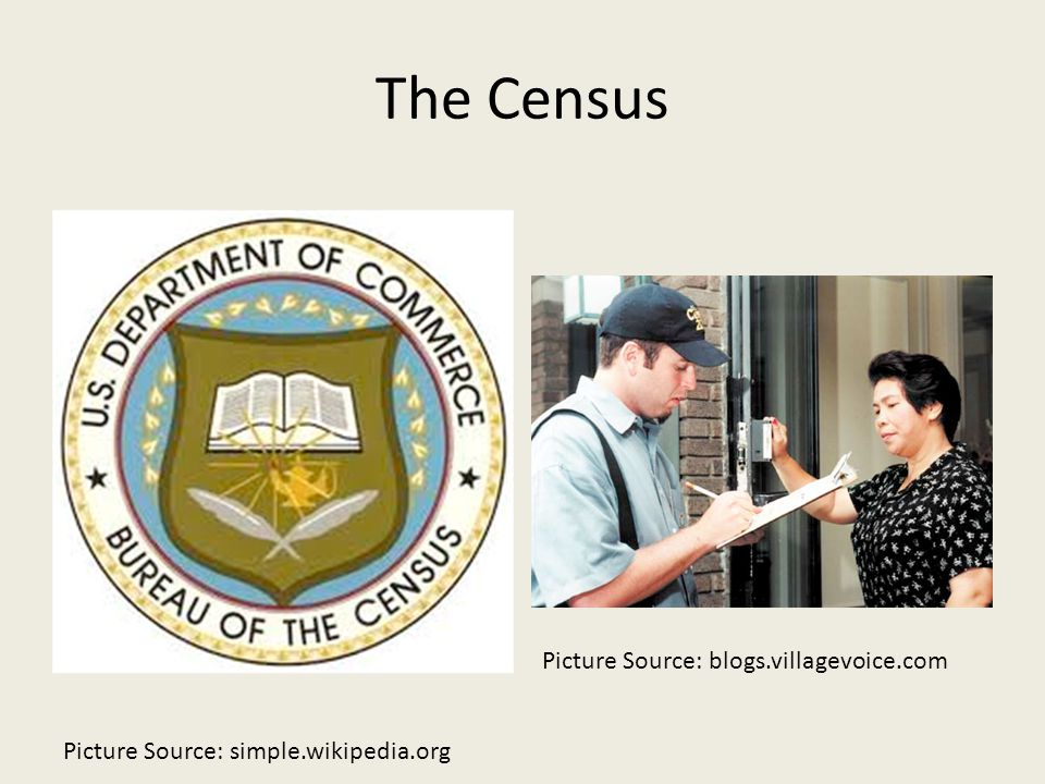 The Census Picture Source: blogs.villagevoice.com