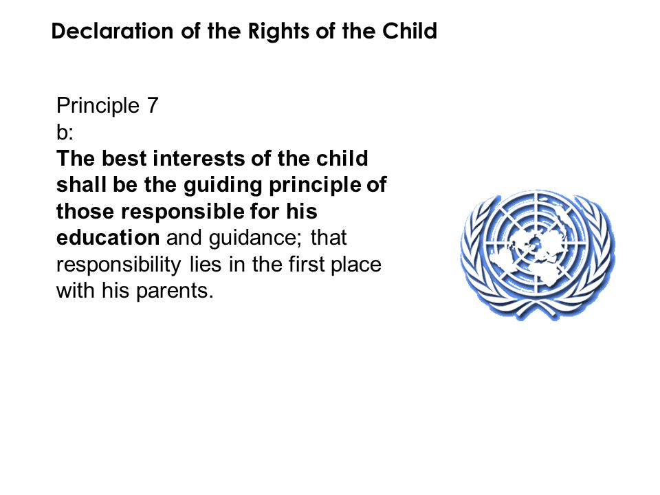Declaration of the Rights of the Child